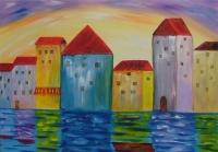 Häuser am Wasser